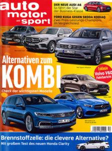 Zeitschrift auto motor und sport