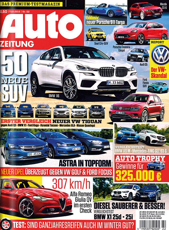 Zeitschrift Auto Zeitung