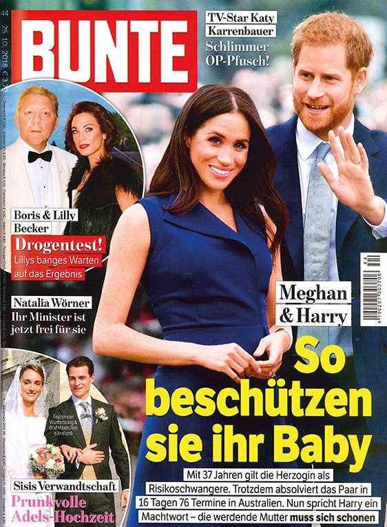 Zeitschrift BUNTE