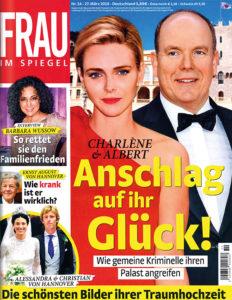 Zeitschrift Frau im Spiegel