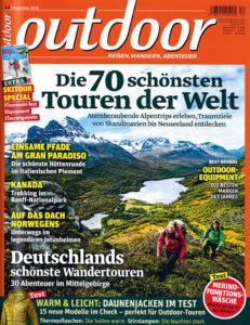 Zeitschrift outdoor